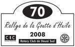 Rallye de la Goutte d'Huile - 2008